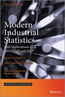 Modern industrial statistics [electronic resource] : with applications in R, MINITAB and JMP