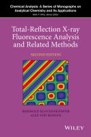 Total-reflection x-ray fluorescence analysis and related methods [electronic resource]