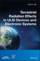 Terrestrial radiation effects in ULSI devices and electronic systems [electronic resource]