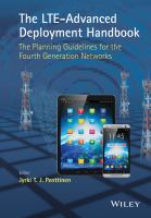 The LTE-advanced deployment handbook [electronic resource] : the planning guidelines for the fourth generation networks