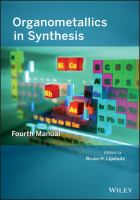 Organometallics in synthesis [electronic resource] : fourth manual