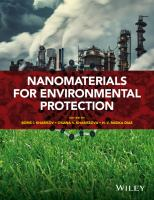 Nanomaterials for environmental protection [electronic resource]