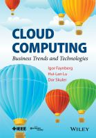 Cloud computing [electronic resource] : business trends and technologies