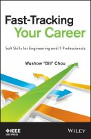 Fast-tracking your career : soft skills for engineering & IT professionals