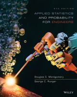 Applied statistics and probability for engineers [electronic resource]