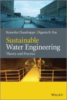 Sustainable and water engineering [electronic resource] : theory and practice