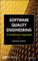 Software quality engineering [electronic resource] : a practitioner's approach