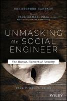Unmasking the social engineer : the human element of security