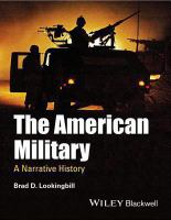 The American military : a narrative history