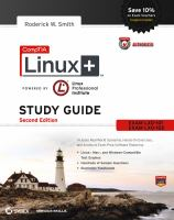 CompTIA Linux+ study guide [electronic resource] : exams LX0-101 and LX0-102