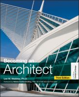 Becoming an architect : a guide to careers in design