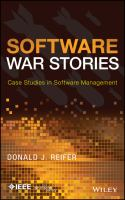 Software war stories [electronic resource] : case studies in software management