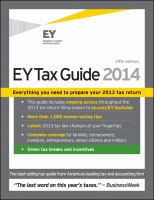 EY tax guide 2014