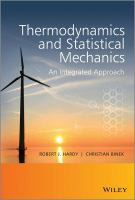 Thermodynamics and statistical mechanics : an integrated approach