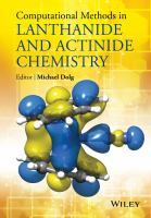 Computational methods in lanthanide and actinide chemistry [electronic resource]