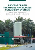 Process development and resource conservation for biomass conversion systems [electronic resource]