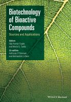 Biotechnology of bioactive compounds [electronic resource] : sources and applications