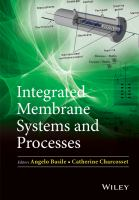 Integrated membrane systems and processes [electronic resource]