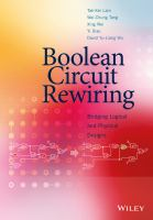 Boolean circuit rewiring [electronic resource] : bridging logical and physical designs