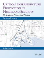Critical infrastructure protection in homeland security [electronic resource] : defending a networked nation