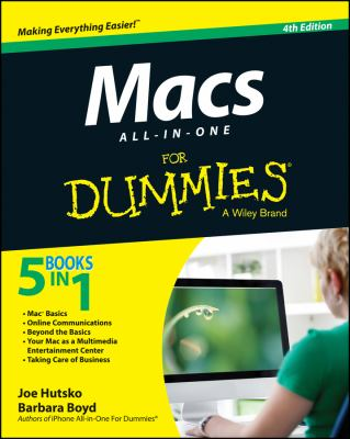 Cover Image for Macs All-in-one for Dummies by Barbara Boyd