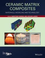 Ceramic matrix composites (Bansal)