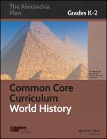 Common Core curriculum : world history, grades K-2
