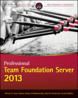 Professional Team Foundation Server 2013 [electronic resource]