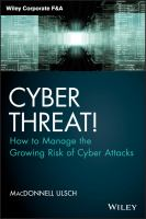 Cyber threat! [electronic resource] : how to manage the growing risk of cyber attacks
