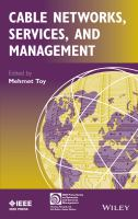 Cable networks, services and management [electronic resource]