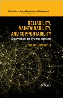 Reliability, maintainability, and supportability [electronic resource] : best practices for systems engineers