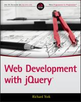 Web development with jquery [electronic resource]