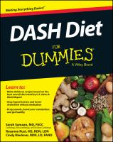 DASH Diet For Dummies