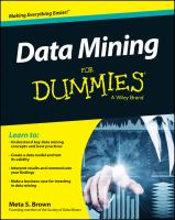 Data mining for dummies [electronic resource]