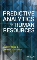 Predictive analytics for human resources [electronic resource]