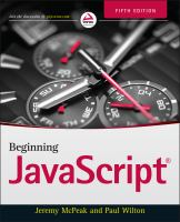 Beginning JavaScript [electronic resource]