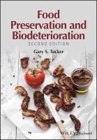 Food biodeterioration and preservation.