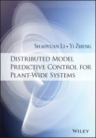 Distributed model predictive control for plant-wide systems [electronic resource]