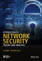 Introduction to network security : theory and practice
