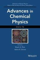 Advances in chemical physics. Volume 156 [electronic resource]
