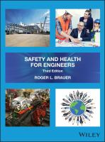 Safety and health for engineers /