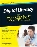 Digital literacy for dummies [electronic resource]