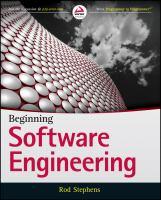 Beginning software engineering [electronic resource]