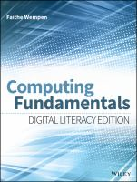 Computing fundamentals [electronic resource] : digital literacy edition