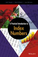 A practical introduction to index numbers [electronic resource]