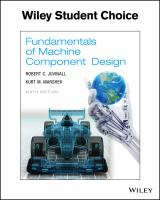 Fundamentals of machine component design /