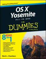 OS X Yosemite all-in-one for dummies [electronic resource]