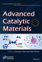 Advanced catalytic materials [electronic resource]