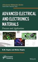 Advanced electrical and electronics materials [electronic resource]