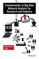Fundamentals of big data [electronic resource] : network analysis for research and industry